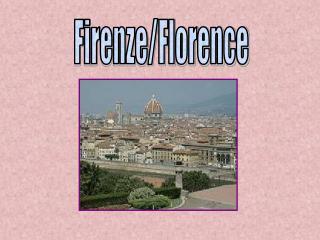 Firenze/Florence