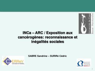 SABRE Sandrine – SURIRé Cédric