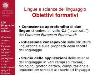 LIS  (lingua dei  segni italiana)