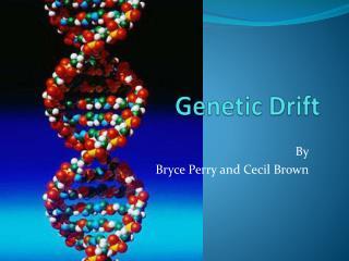 Genetic Drift