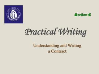 Understanding and Writing  a Contract