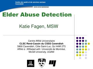 Elder Abuse Detection