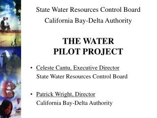 State Water Resources Control Board California Bay-Delta Authority THE WATER PILOT PROJECT