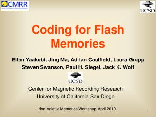 Coding for Flash Memories