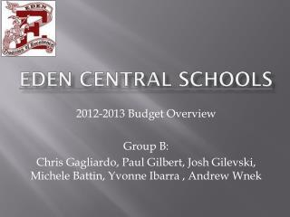 Eden  Central Schools