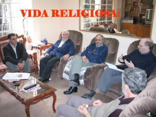 VIDA RELIGIOSA: