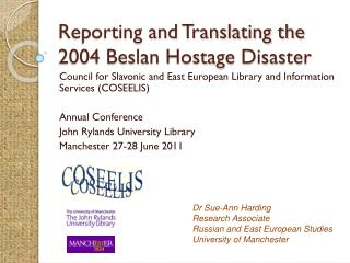 Reporting and Translating the 2004 Beslan Hostage Disaster