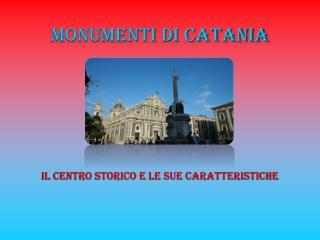 Monumenti di Catania