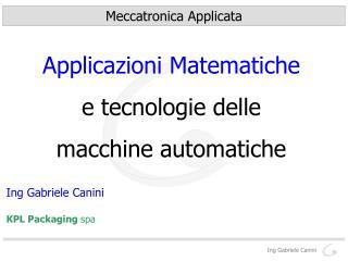 Ing Gabriele Canini
