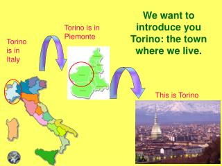 We want to introduce you Torino: the town where we live.