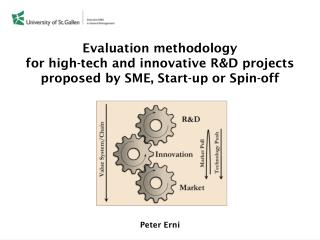 Evaluation methodology  for  high-tech and innovative R&D  projects  proposed  by SME, Start-up or  Spin-off