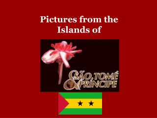 Pictures from the Islands of