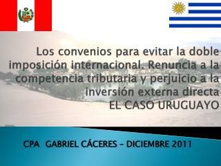 CPA GABRIEL CÁCERES –  DICIEMBRE  2011