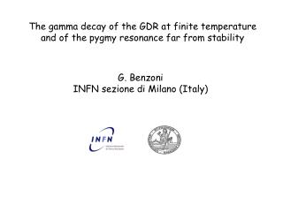 The gamma decay of the GDR at finite temperature and of the pygmy resonance far from stability