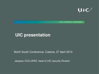 UIC presentation