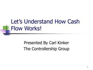 Let's Understand How Cash Flow Works!