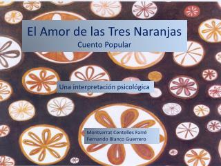 El Amor de las Tres Naranjas Cuento Popular
