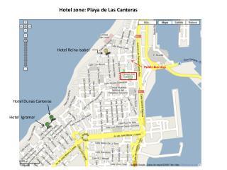Hotel zone: Playa de Las Canteras
