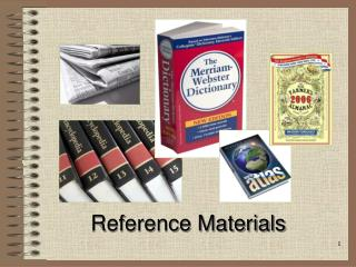 Reference Materials