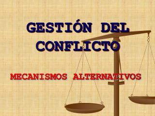 GESTIÓN DEL CONFLICTO