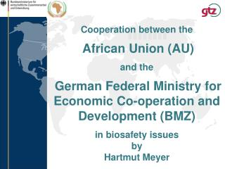Cooperation between the African Union (AU) and the German Federal Ministry for Economic Co-operation and Development (B