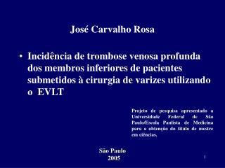 José Carvalho Rosa