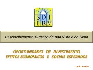 Desenvolvimento Turístico da Boa Vista e do Maio