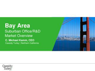 Bay Area  Suburban Office/R&D  Market Overview