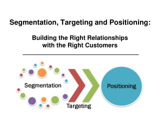 segmentation targeting positioning case study