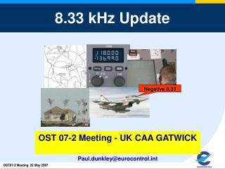8.33 kHz Update