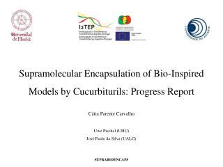 Supramolecular Encapsulation of Bio-Inspired Models by Cucurbiturils: Progress Report