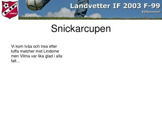 Snickarcupen