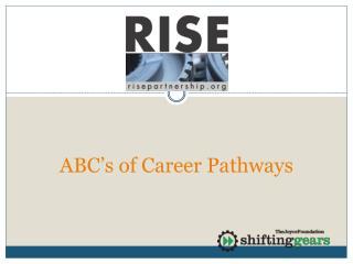 ABC�s of Career Pathways