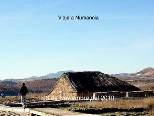 Viaje a Numancia
