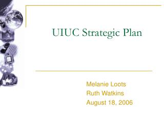 UIUC Strategic Plan