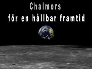 Chalmers  för en hållbar framtid