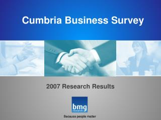 Cumbria Business Survey