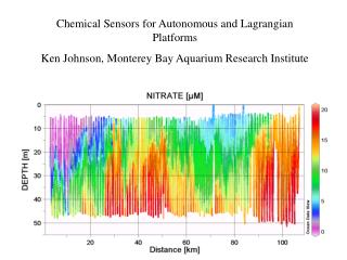 Chemical Sensors for Autonomous and Lagrangian Platforms Ken Johnson, Monterey Bay Aquarium Research Institute