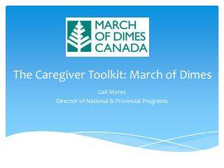 The Caregiver Toolkit: March of Dimes
