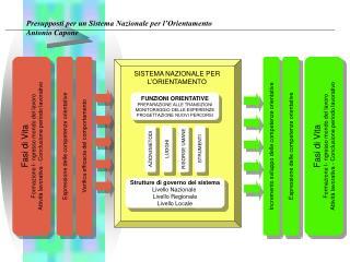 Fasi di Vita Formazione I- ngresso mondo del lavoro Attività lavorativa - Conclusione periodo lavorativo