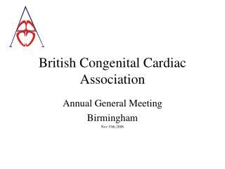 British Congenital Cardiac Association