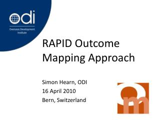 RAPID Outcome Mapping Approach