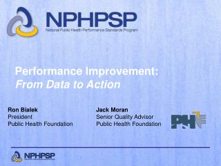 Performance Improvement:  From Data to Action