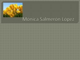 Mónica Salmerón López