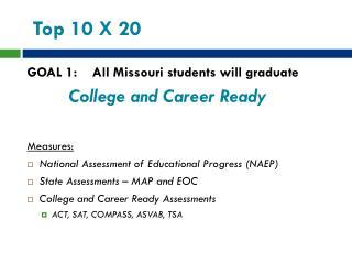 Top 10 X 20