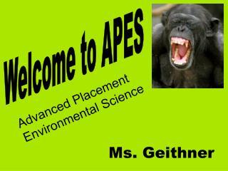 Ms. Geithner