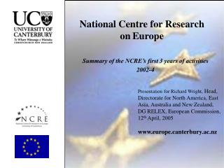 National Centre for Research  on Europe