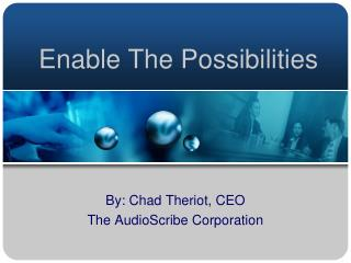 Enable The Possibilities