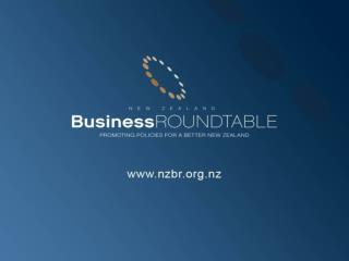 Public Policy: Objectives and Principles Roger Kerr New Zealand Business Roundtable