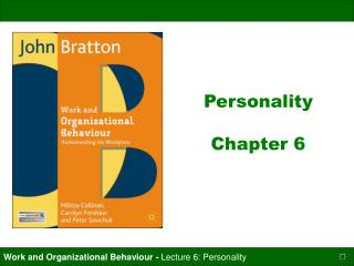 Personality   Chapter 6